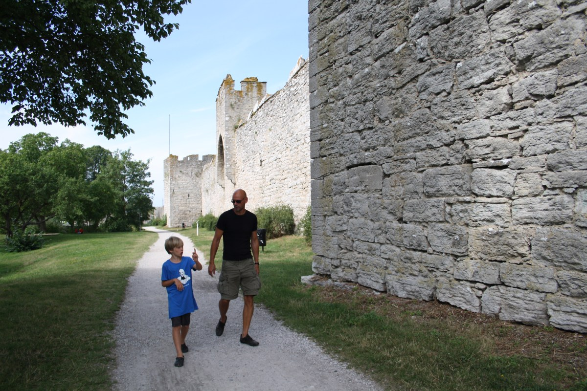 visby town wall