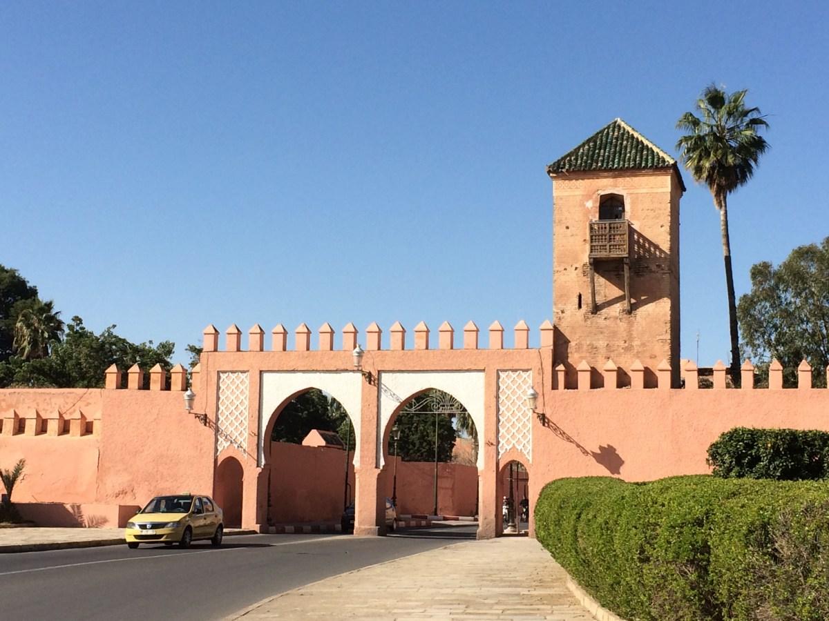 Marrakesh wall