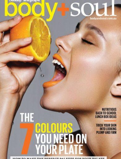 body+soul magazine cover