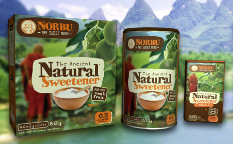 Norbu natural monk fruit sweetener australia