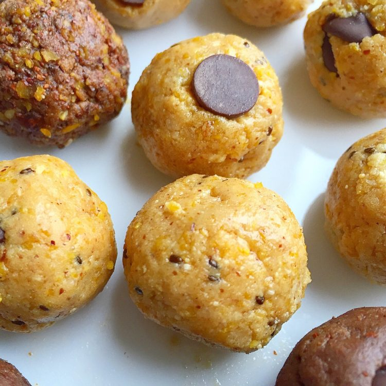 bliss balls prebiotics lupin and vitafiber