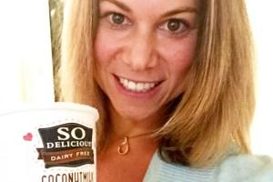 sugar free prebiotic fiber ice-cream kara landau travelling dietitian