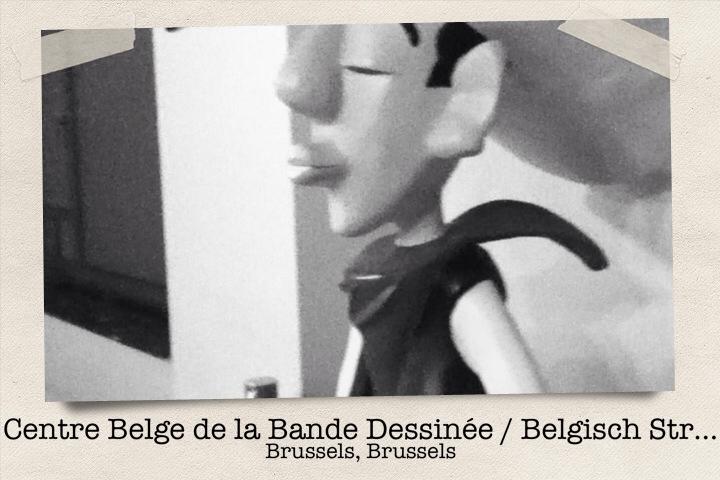 Centre Belge de la Bande Dessinée, Bruselas