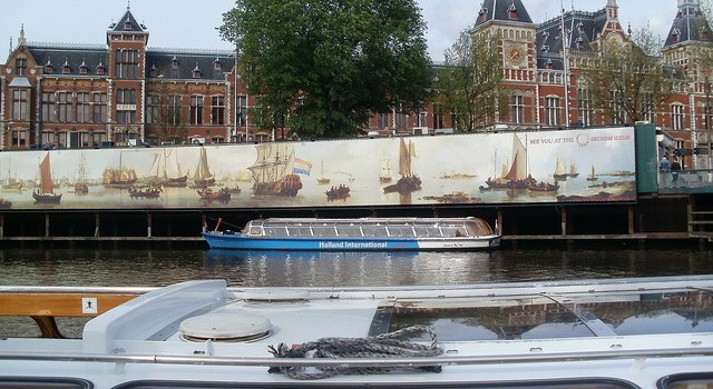 De paso obligado en Amsterdam, estación de Amsterdam Centraal
