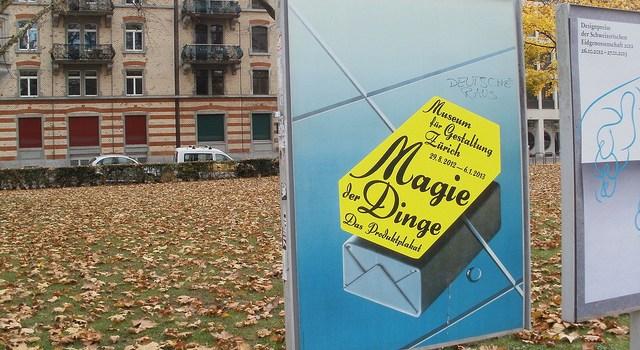 Exposición La magia de los Objetos en el museo del Diseño de Zurich