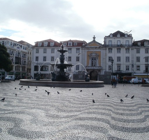 Plaza de Rossio, Lisboa