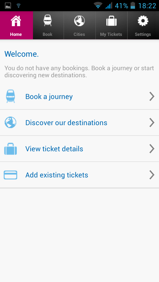Train Tickets Rail B