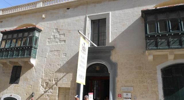 Casa Rocca Piccola, un palacete con 400 años de la historia de Malta