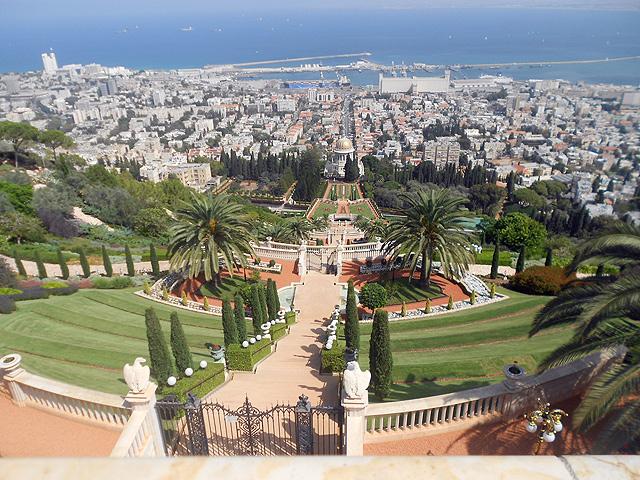 Jardines persas o Bahai, Haifa, Israel