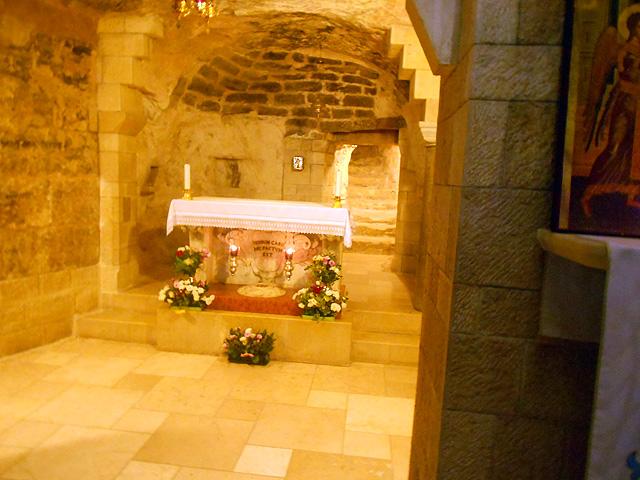 Casa de María, Basílica de la Anunciación, Nazaret, Israel
