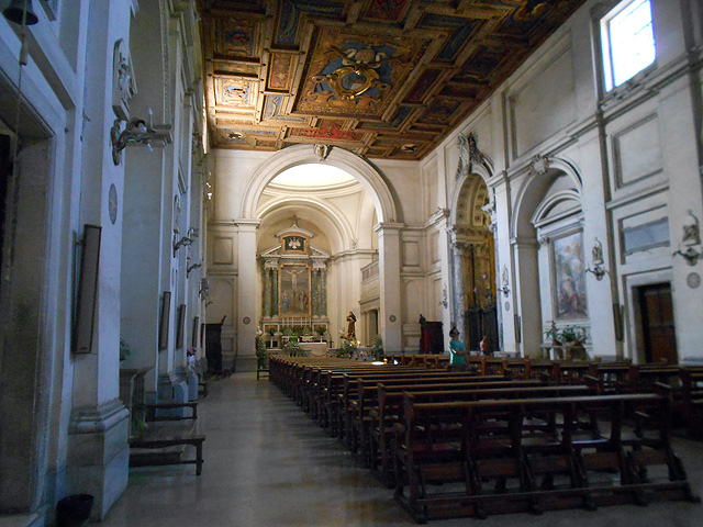 Interior Basilíca Sebastiano