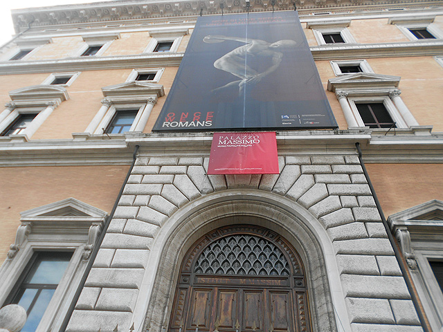 Palazzo Massimo Exterior