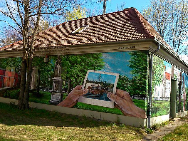 Murales Cerca de la estación de Oranienburg
