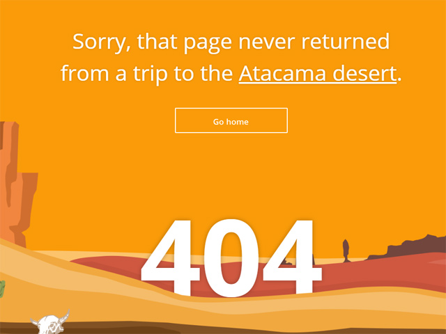 Página de Error de Triptomatic. Obtenido de Time 404 Forever: 10 of the Web's Best Error Pages http://time.com/3478874/best-404-error-pages/