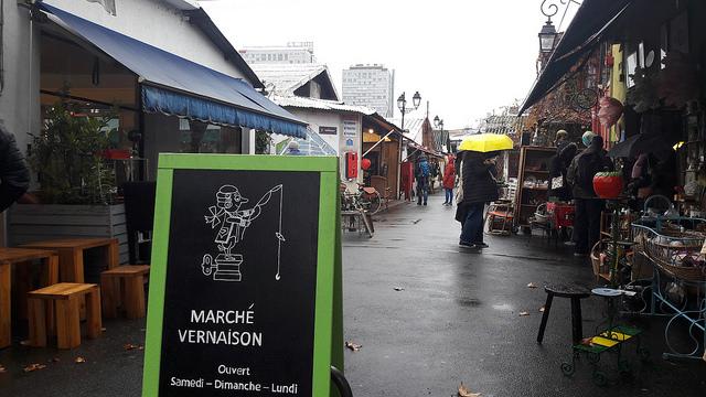 visitar el Marché aux Puces de París