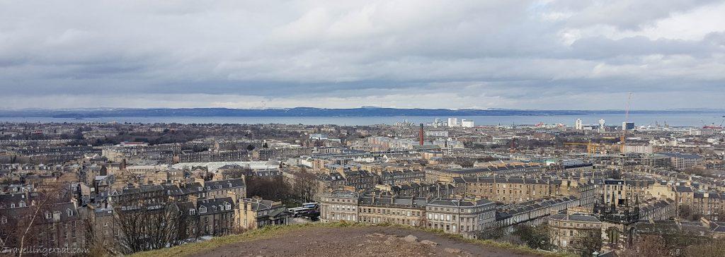 Vista da Calton Hill