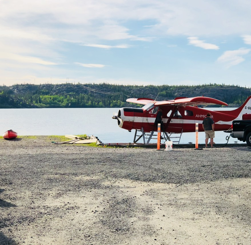 Travelling Foody - Old Town red float plane