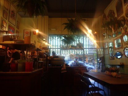 One of many cafes