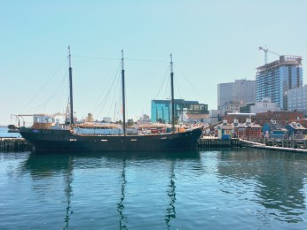 Halifax waterfront, view from Murphy's Cable Wharf