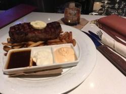 Steak at the Stubborn Goat