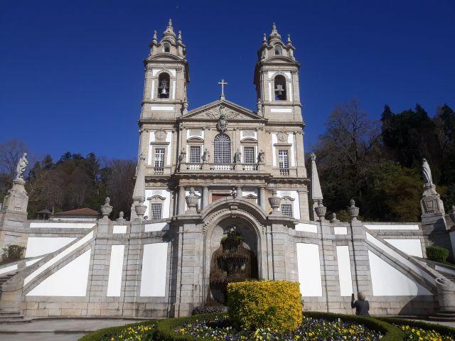 The famous Bom Jesus do Monte sanctuary in Portugal