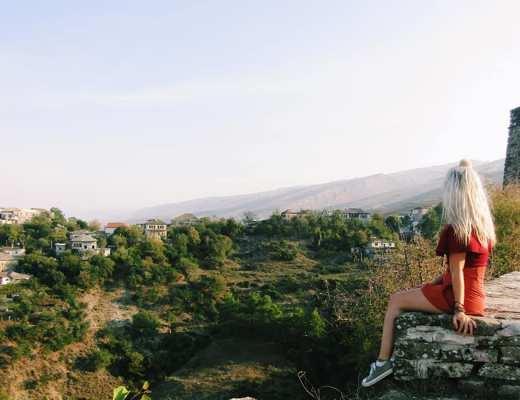 gjirokaster fortress, visit the balkans, albania