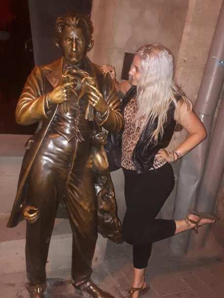 Sacher von Masoch statue
