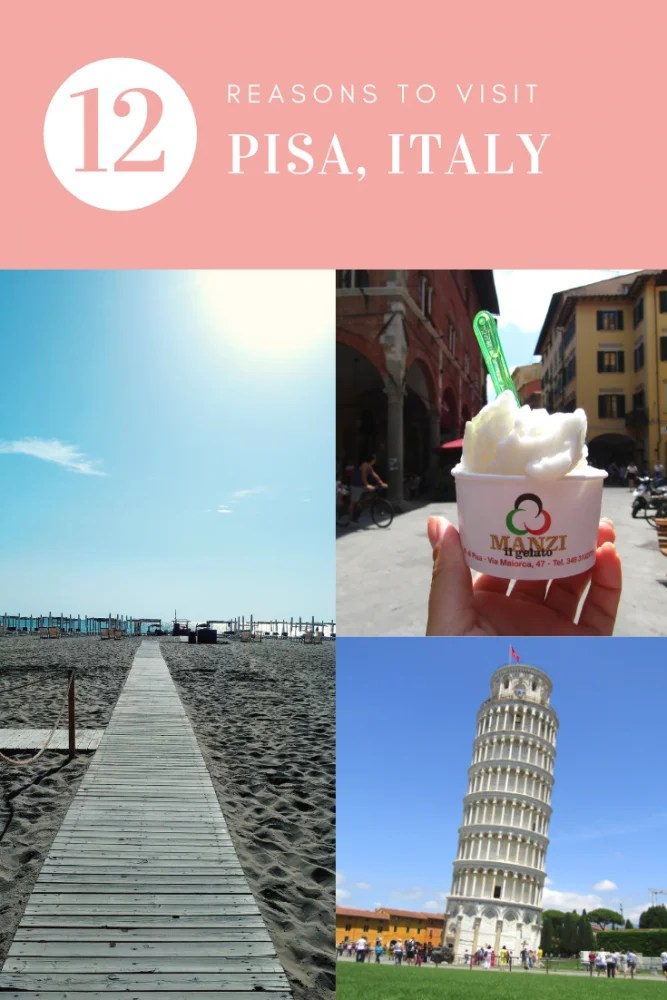 12 Reasons Why Pisa Should Be Your Next Italian City Break! - while Pisa, Italy may not strike many as a 'lesser-known' destination (we've all heard of a certain leaning tower after all), Pisa gets a fraction of the tourism that other major Italian cities get, and I think that this is a real shame as it is a fantastic city with a lot to offer. #pisa #italy #italycitybreak #italiancitybreak #europebucketlist