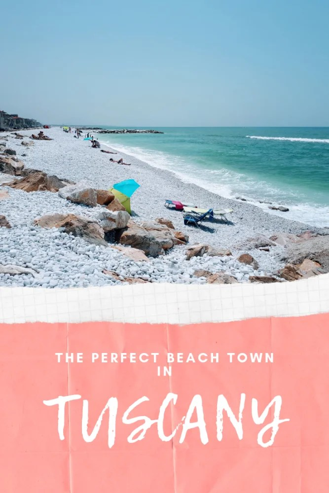 Is Marina di Pisa the Perfect Tuscan Beach Town? - just a stone's throw away from the centre of Pisa is Marina di Pisa, the quiet Tuscan beach town where you can wander around the peaceful streets completely uninterrupted and where the coastline stretches as far as the eye can see. #tuscany #italy #visititaly #pisa