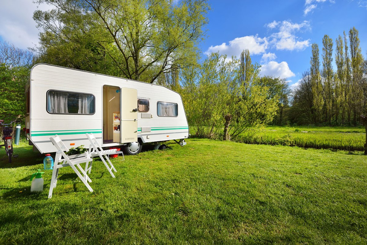 Would you live full-time in a caravan?