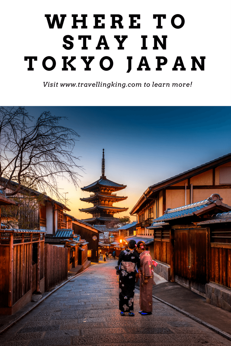Where To Stay In Tokyo Japan