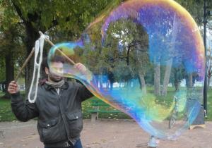 Bubble guy