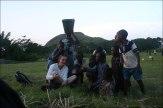 Spass mit den lokalen Kids in Amedzofe