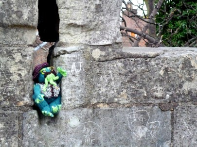 First, Viscount Cthulu went for a walk along the York City Walls. They were very impressive. They were built years and years ago to keep people out of the city, but Cthulu thought they would be useful for keeping people INSIDE the city so they can't escape from his wrath.