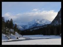 Canadian Rockies In Winter Travelling Omnomnivore