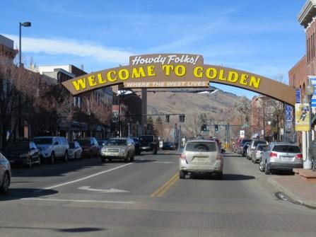 Golden town