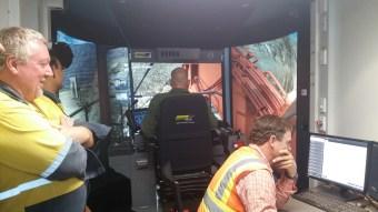 Excavator Simulator challenge. I didn't lose!