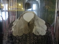 350 year old blood stains on the former King's clothes