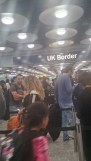 I spent longer in the passport line than I did on the 1.5 hr flight