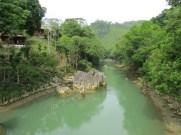 The Cahabón River and Hotel El Portal