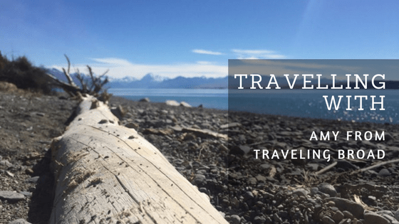 Travelling With interview with Amy traveling broad