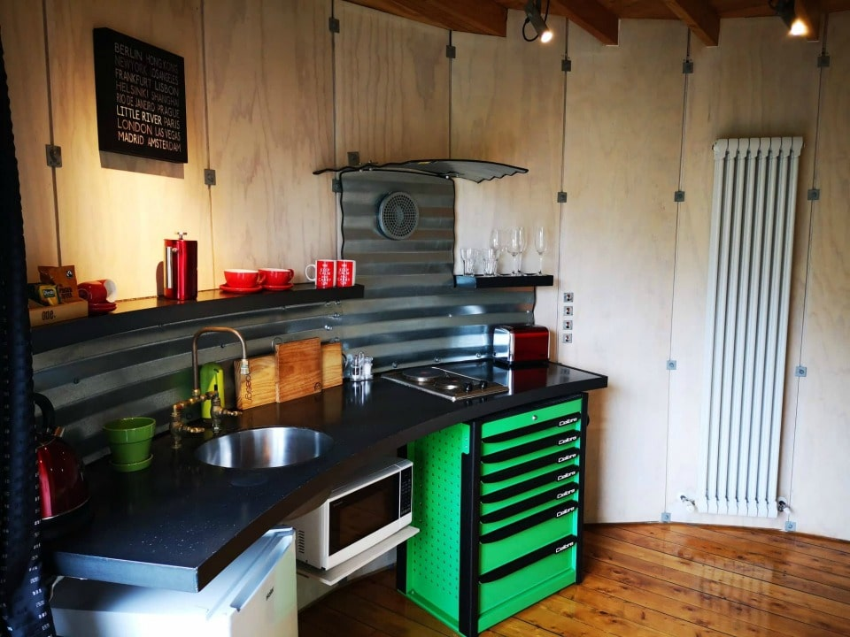SiloStay kitchen tool cabinets