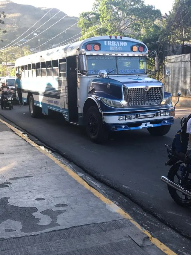 Chicken Buses - A typical bus on a typical day in any typical Central America country