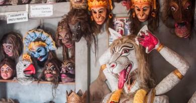 Masks of Majuli