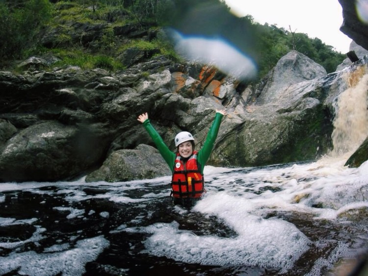 Kloofing (canyoning) in South Africa!