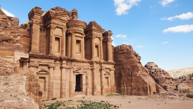 A guide and photo journal about hiking to the Monastery in Petra and why you should NEVER ride a donkey!