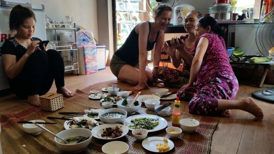 Phong Nha Ké Bang, lunch