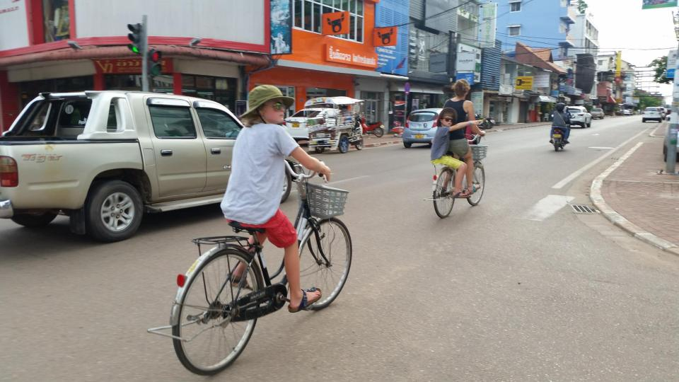 Fietsen Vientiane aanrader