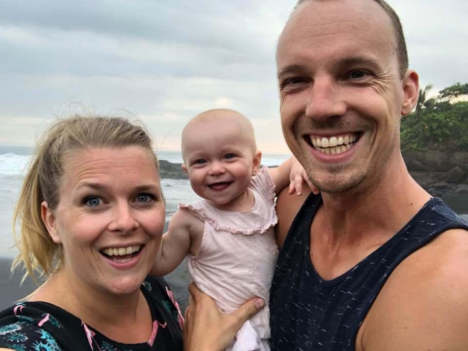 Auke, Ilse, Sophía family
