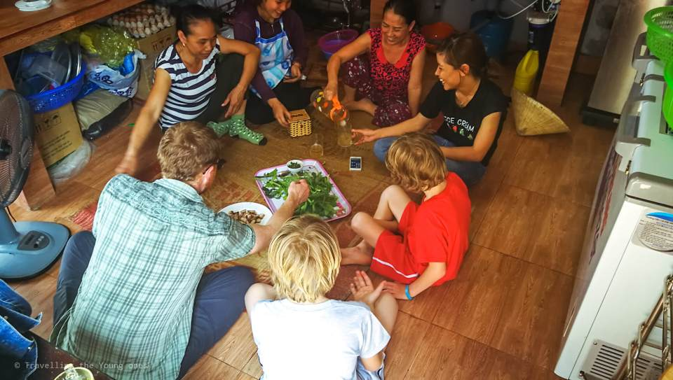 Phong Nha lunch